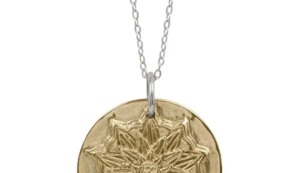 True North Mandala Necklace