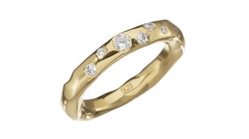 Kum Kum Raw Sparkle Ring