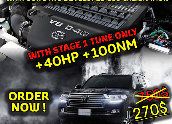 Toyota Land Cruiser 200 4.5D Stage 1 Tune 89663-60A31