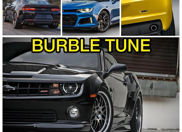 Chevrolet Camaro 02-21 Burble Tune