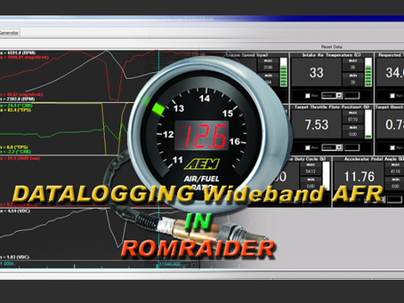 How to: Datalogging Wideband in Romraider