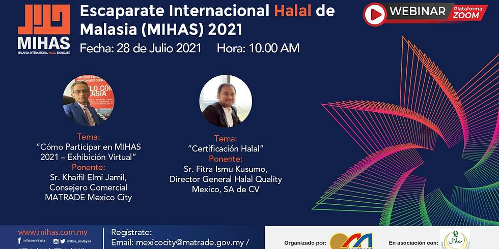 Webinar Malaysia International Halal Showcase (MIHAS), MATRADE Mexico City