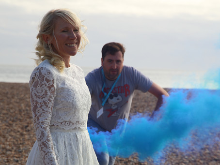 THE DAY OF SMOKE BOMBS