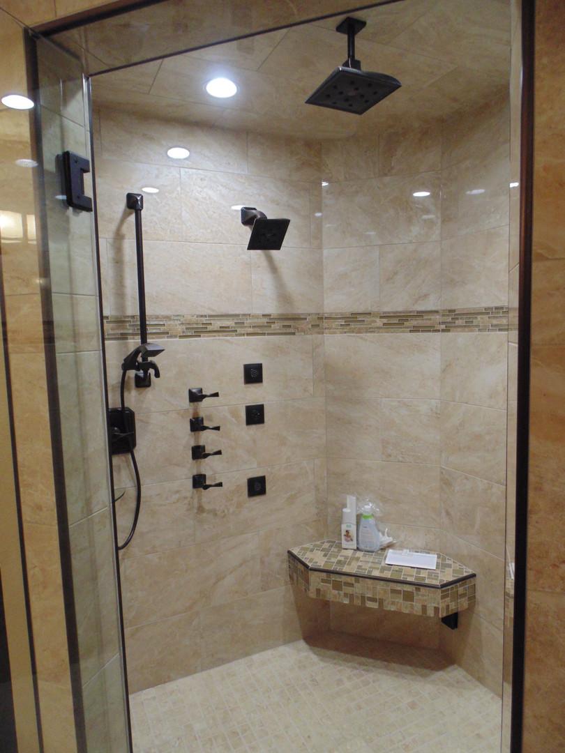 Elegant Custom Master Shower