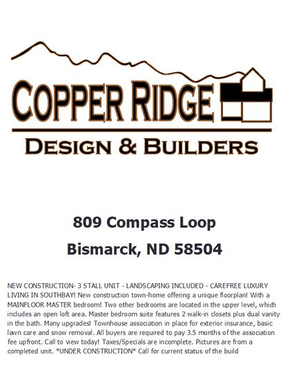 Home Builder 809 Comp Loop Copper Ridge Design And Builders