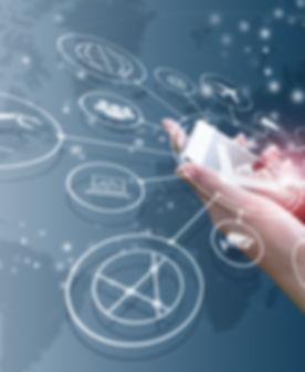 Industry 4.0 concept, intelligent factor