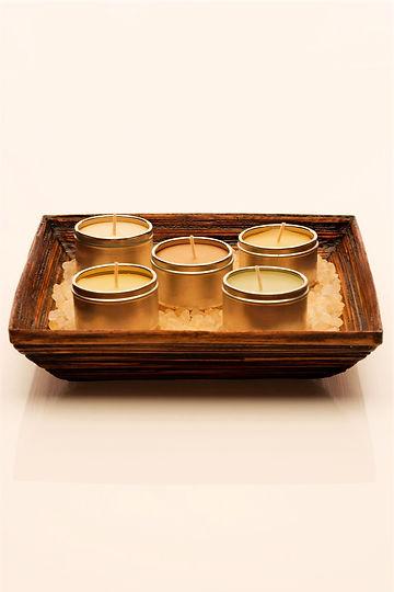 8oz tin candles