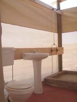 Badkamer binne