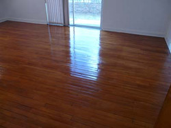 Wooden floors after renovations