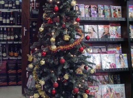 Spar Christmas Tree Project 2010