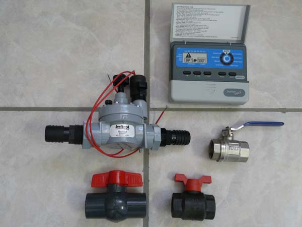 Valves & controller for automation