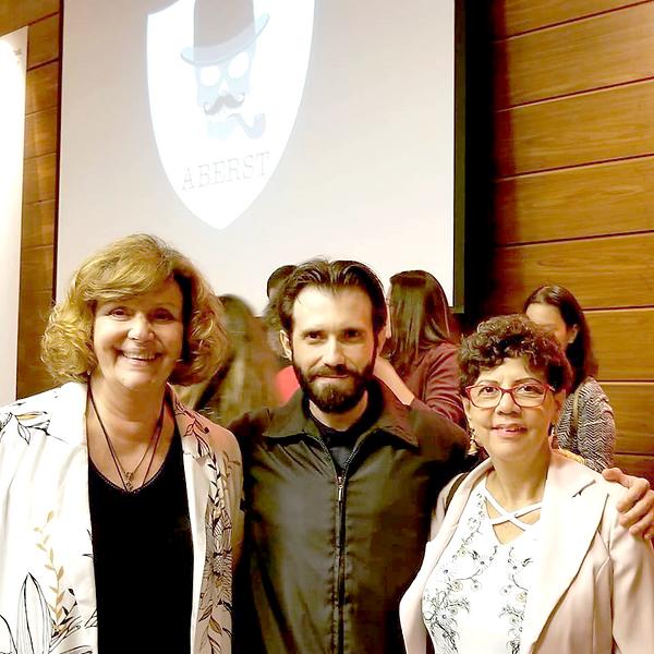 Cerimônia 1º Prêmio ABERST de Literatura - Outubro de 2018