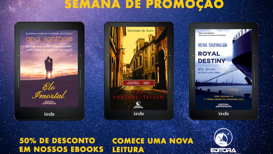 SEMANA DE PROMOÇÃO - BLACK FRIDAY - EDITORA ASTRONAUTA