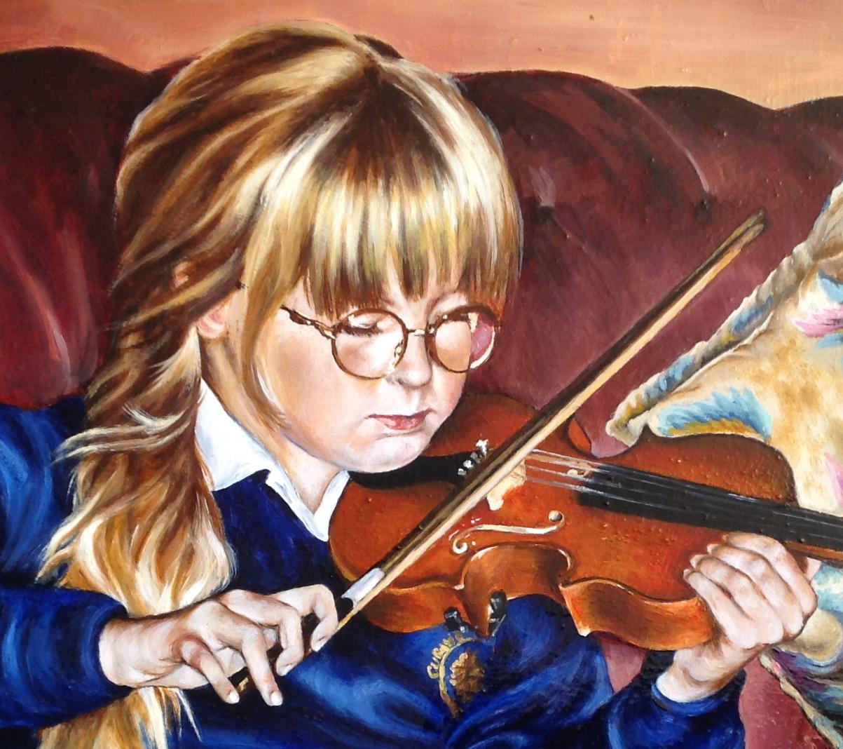 Violin practise