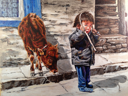 Nepalese stock boy