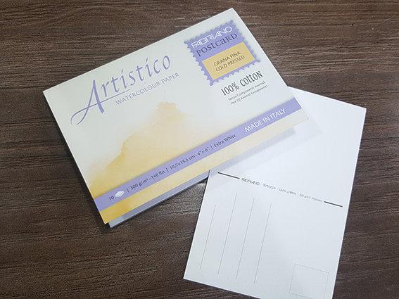 Fabriano Artistico Watercolor Postcard