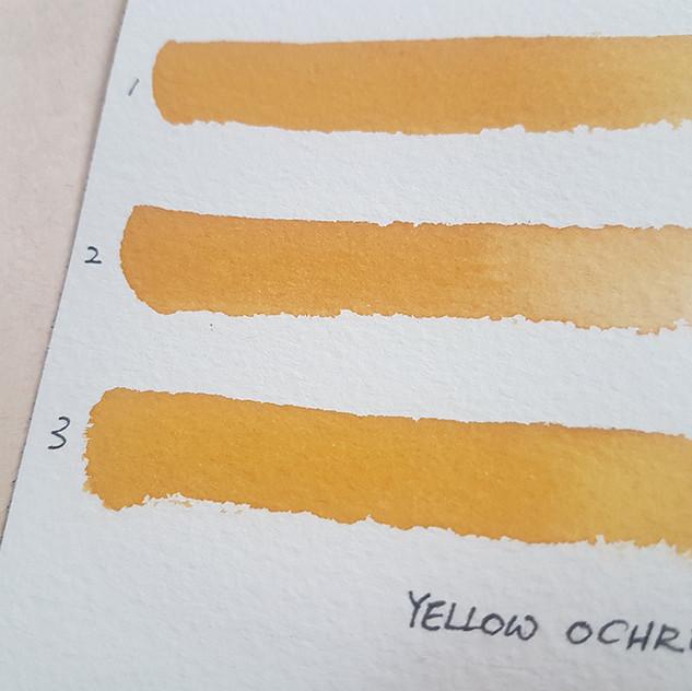 YellowOchreTTest
