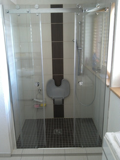 Badsanierung Nordhausen Behindertengerechte Dusche
