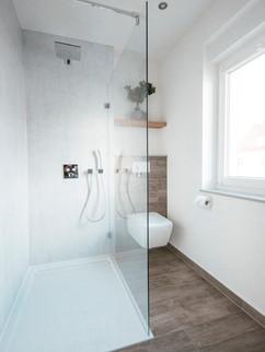 Badsanierung Nordhausen Dusche +WC