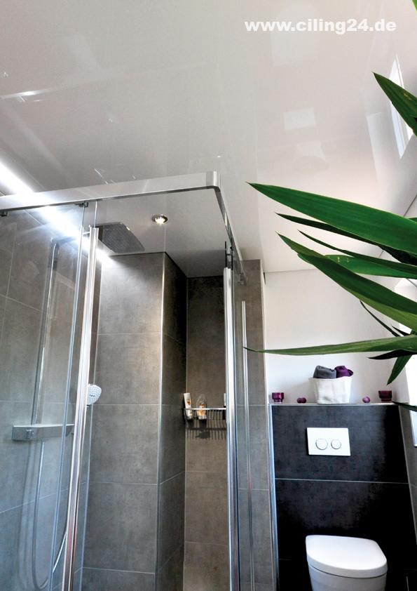 CILING Spanndecke Badezimmer