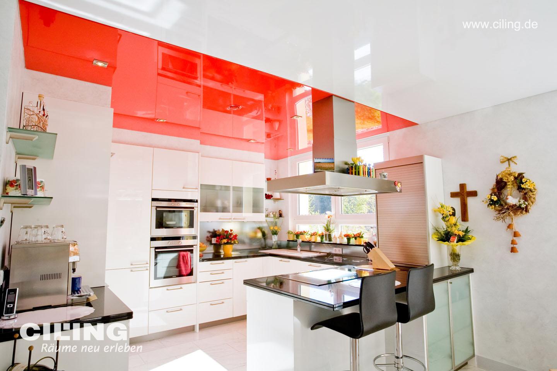 CILING Spanndecke Küche