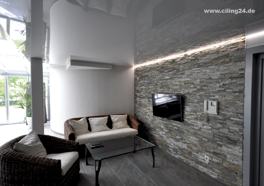 CILING Spanndecke Wohnzimmer