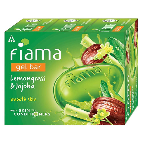 Fiama Gel Bar, Lemongrass and Jojoba