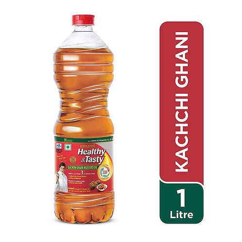 Emami Healthy and Tasty Kachi Ghani Mustard Oil
