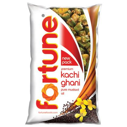 Fortune Premium Kachi Ghani Pure Mustard Oil 1 L