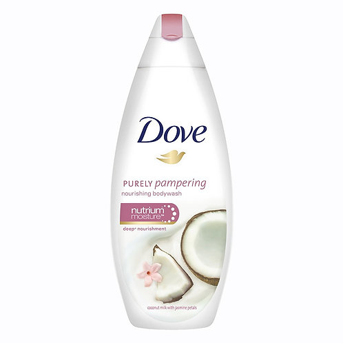 Dove Coconut Milk and Jas Petals Body Wash