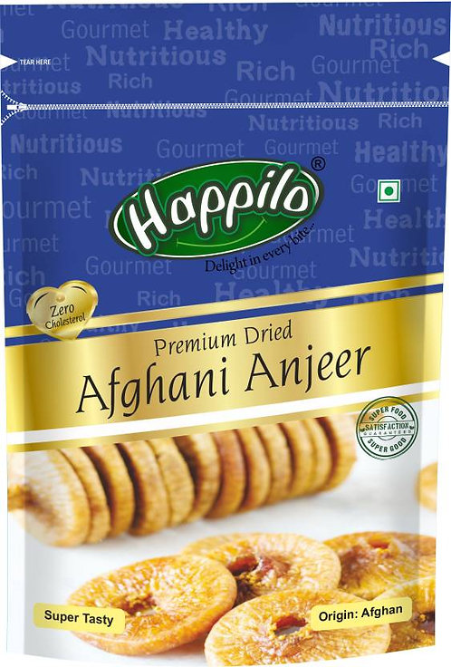 Happilo Premium Dried Afghani Figs  ,200 gm