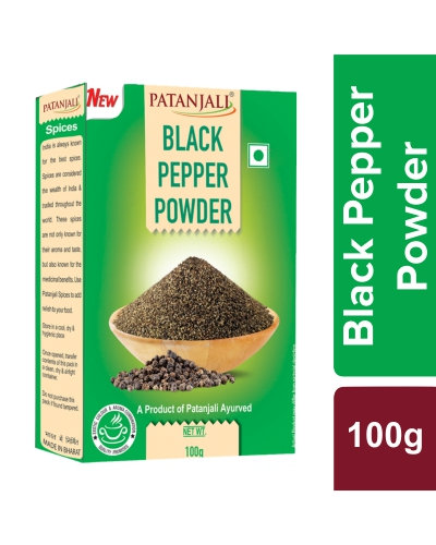 Patanjali Black Pepper Powder, 100 gm