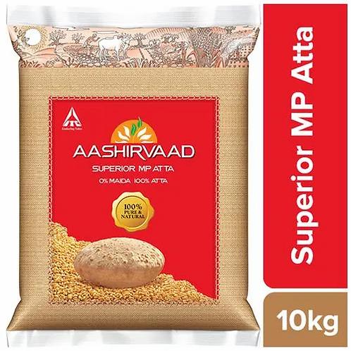 Aashirvaad Atta Whole Wheat 10 kg