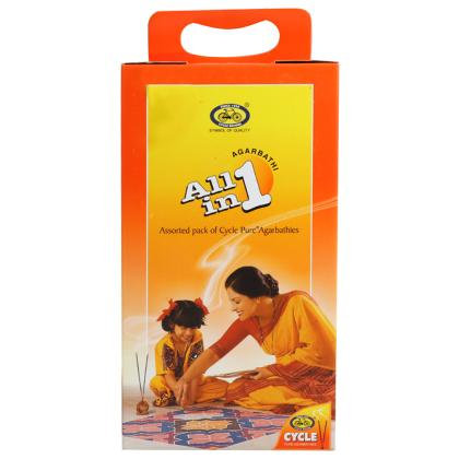 Cycle All In One Assorted Agarbatti 191 pcs