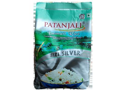 Patanjali Basmati Rice (Silver) 1 Kg