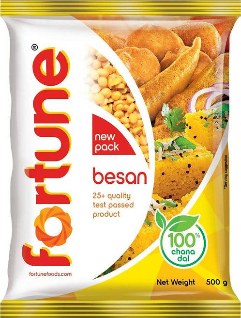 Fortune Besan 500 Gm