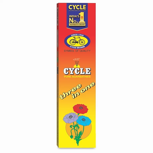 Cycle 3 in 1 Agarbatti