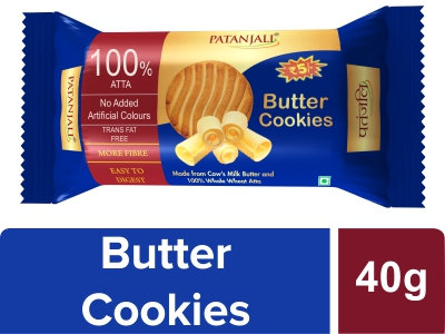Patanjali Butter Cookies 40 Gm