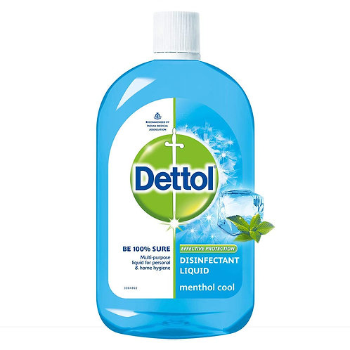 Dettol Disinfectant Multi-Use Hygiene Liquid Menthol Cool- 200 ml