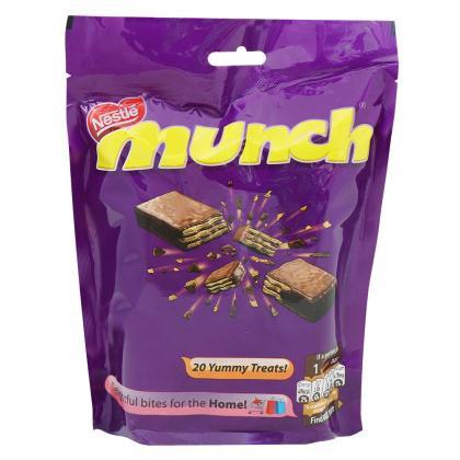 Nestle Munch Wafer Chocolate Bar 222 g (Share Pack)