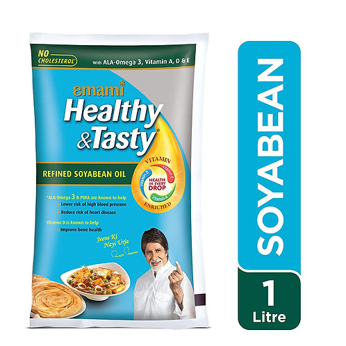 Emami Healthy and Tasty Refined Soyabean Oil