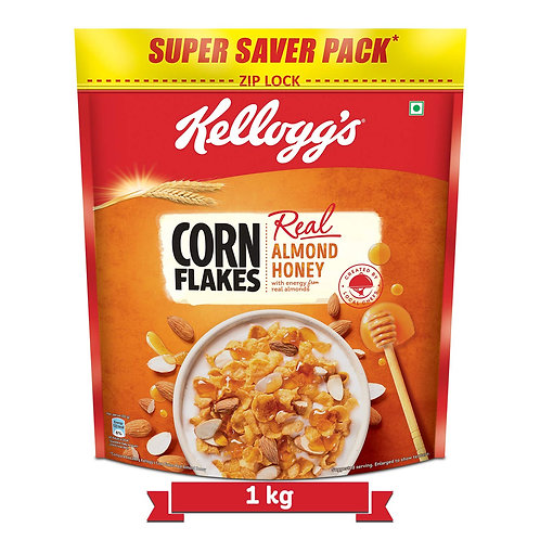 Kellogg's Corn Flakes Real Almond and Honey