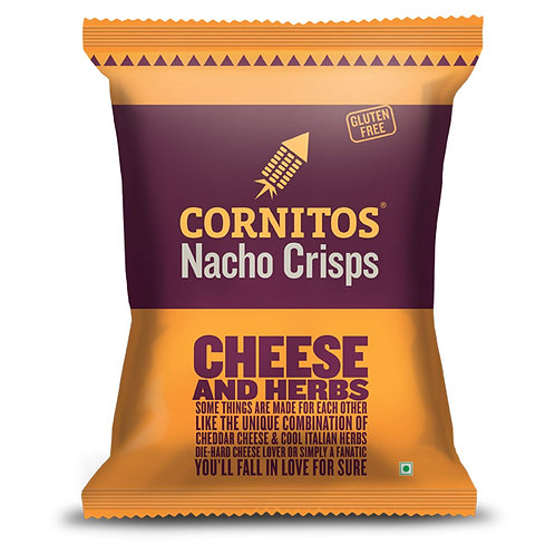 Cornitos Nacho Crisps Cheese and Herbs