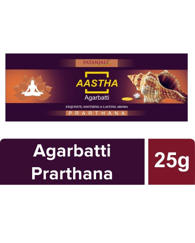 Patanjali Agarbatti (Prarthana), 25 gm