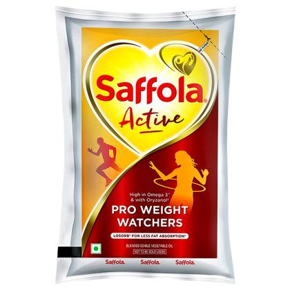 Saffola Active RiceBran Based Blended Oil 1 L