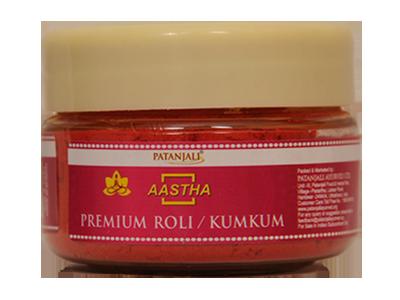 Patanjali Aastha Premium Roli Kumkum 25 gm