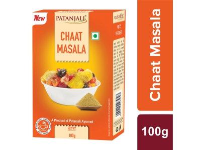 Patanjali Chaat Masala Powder 100 gm