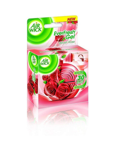 Airwick Everfresh Gel Morning Rose Dew, 50 gm