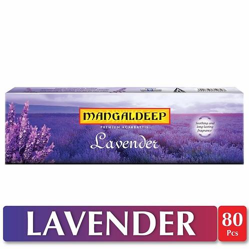 Mangaldeep Lavender Agarbatti - 80 Sticks