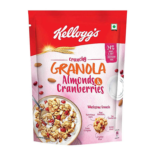 Kellogg's Crunchy Granola Almonds and Cranberries